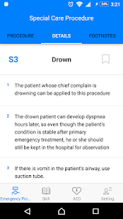 EMT POCKET REFERENCE (BLS+CPR) - screenshot
