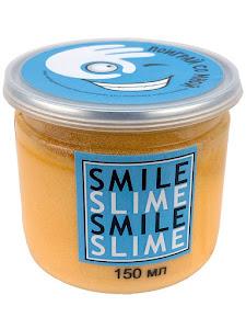 Слайм-лизун Cмузи оранжевый, 150 мл.
