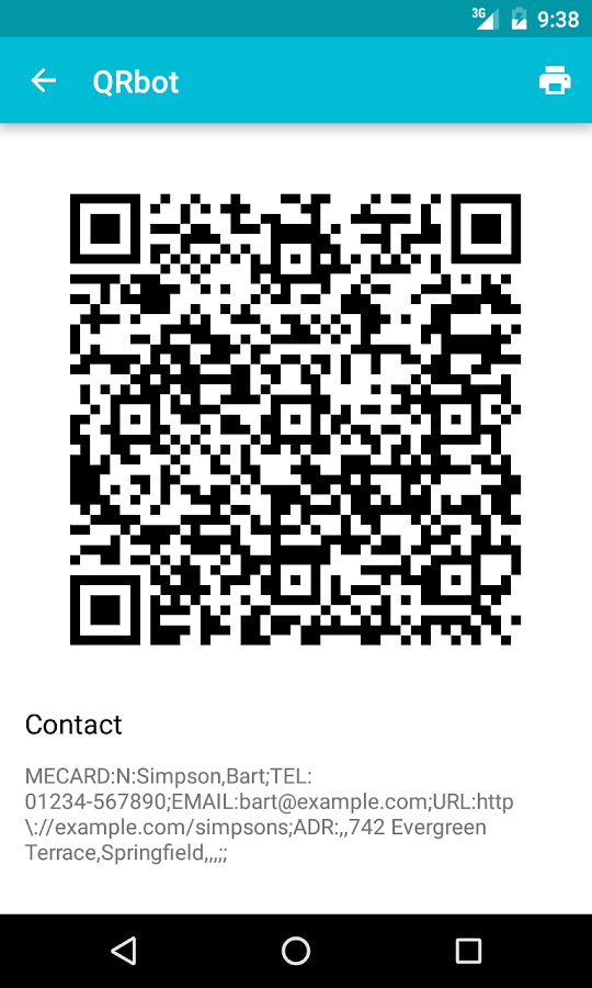 QR Code Reader Screenshot 6