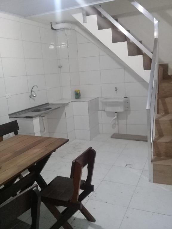 Sobrado para alugar, 300 m² por R$ 4.000,00/mês - Vila Nova - Santos/SP