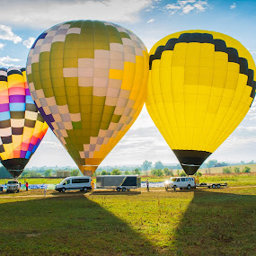 hot air balloon by Domingo Washington - Transportation Other