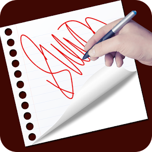 Real Signature Maker 2018 Icon