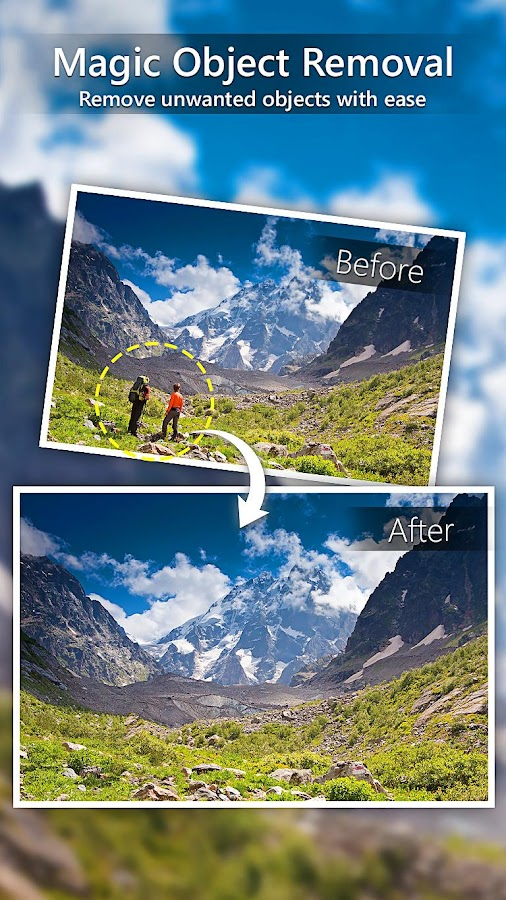 PhotoDirector Photo Editor App Screenshot 4