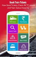 Screenshot of Indian Rail IRCTC & Train PNR