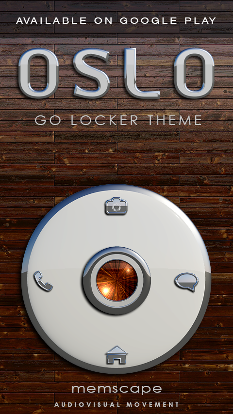OSLO Next Launcher 3D Theme Screenshot 6