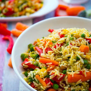 Fried Spicy Vegetable Rice Recipes