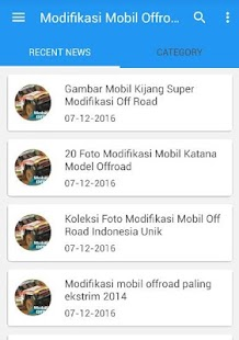 Modifikasi Mobil Offroad 4x4- screenshot thumbnail