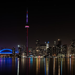 Toronto by William Ducklow - City,  Street & Park  Skylines ( toronto, toronto island, toronto ontario )