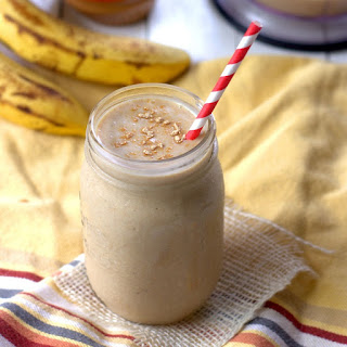 Peanut Butterscotch Maca Smoothie