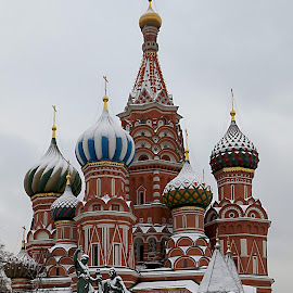 St Basils Cathedral, Moscow by Louise Lord - Buildings & Architecture Places of Worship ( red square, russia, church, moscow, cathedral )
