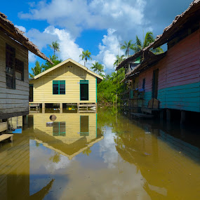 Banjir by Ariefr Abanx - City,  Street & Park  Historic Districts