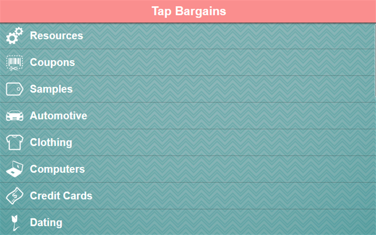 Tap Bargains Screenshot 2