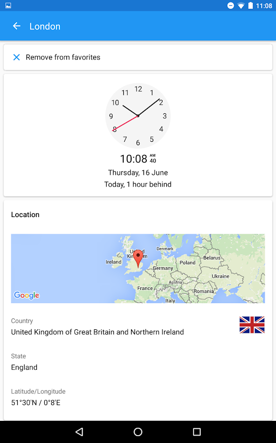 World Clock by timeanddate.com Screenshot 18