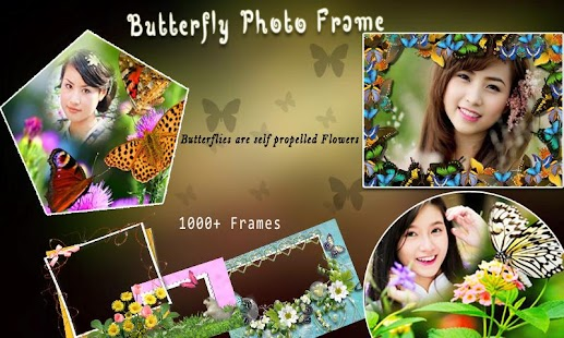 Real Butterfly Photo frames - screenshot