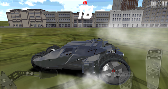 Batmobile Dangerous Drift