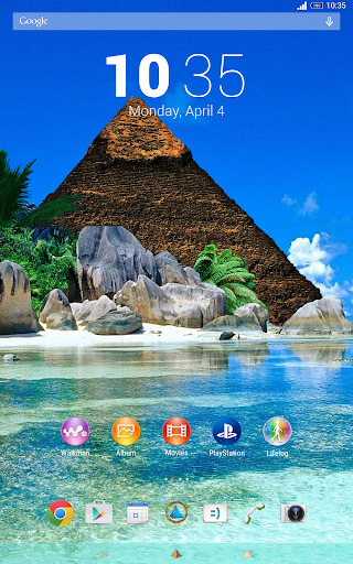 AP Theme Knightsun For Xperia - screenshot
