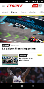 L'Équipe - Sport en direct : foot, tennis, rugby.. for pc