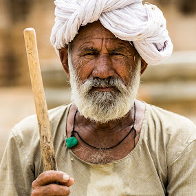Majid by Monish Kumar - People Portraits of Men