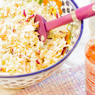 Honey Sriracha Coleslaw (Sweet & Spicy)