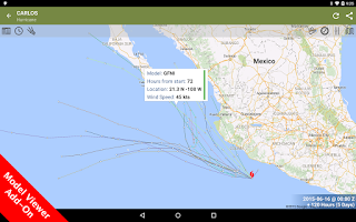 Screenshot of SeaStorm Hurricane Tracker