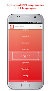 RFI Pure radio - Live streaming and podcast for pc