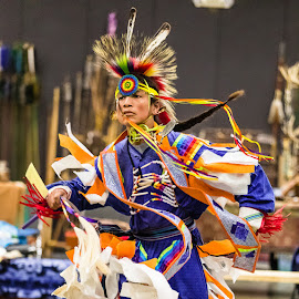 Belton Texas Pow Wow by Christopher Winston - People Portraits of Men ( history, skill, colorful, performance, heritage, dancer )