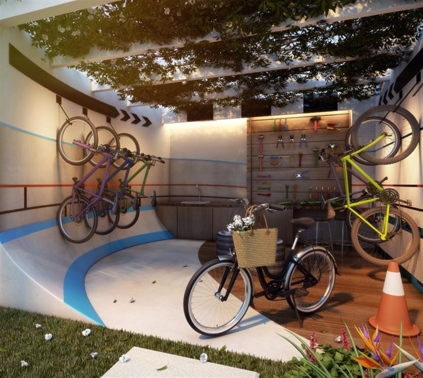 Perspectiva do Bike Atelier