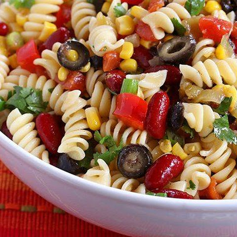 Spicy Mexican Pasta Salad