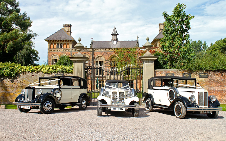 Vintage Wedding Cars in Chester