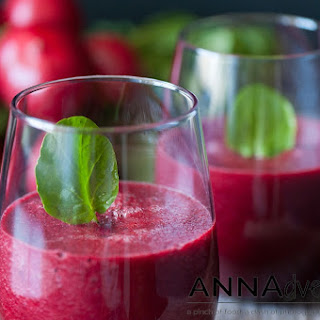 Radish, Beet and Watercress Juice