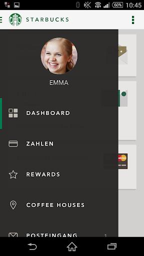 Starbucks Deutschland screenshot 1
