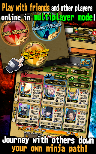 Ultimate Ninja Blazing [Mod] Apk - Ninja cuồng nộ