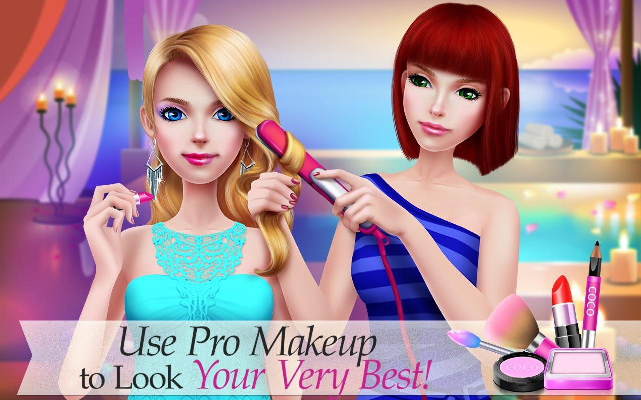 Supermodel Star Fashion Game Screenshot