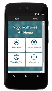 Yoga Postures At Home - screenshot