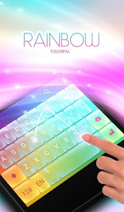 App TouchPal Rainbow keyboard APK for Kindle