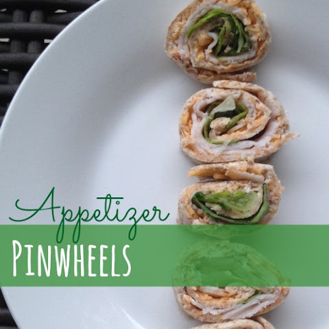 Easy Appetizer Pinwheels Recipe (Or Lunch Wraps)