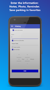 iParking - Find my car- screenshot
