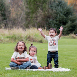So big! by Jenny Hammer - Babies & Children Children Candids ( sister, girl, boys, kids, siblings, cute, brothers )