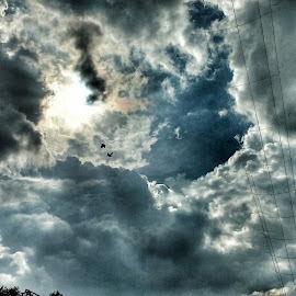 Sky by MD AJIJ - Nature Up Close Other Natural Objects ( sky, blue sky, nature, rainy day, nature up close )
