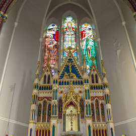 Altar at St Anthony's Church by Tracey Dolan - Buildings & Architecture Architectural Detail