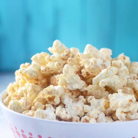 White Chocolate Churro Popcorn