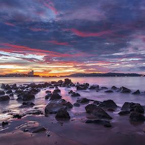 Tanjung Lipat Sabah by Jasni Ulak - Landscapes Sunsets & Sunrises