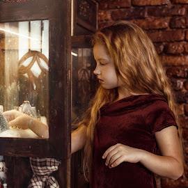 Magic by Viktoria Gladyr - Babies & Children Child Portraits ( cool, girls, face, beautiful, children, beauty, like, pretty, super, child, love, magic, girl )