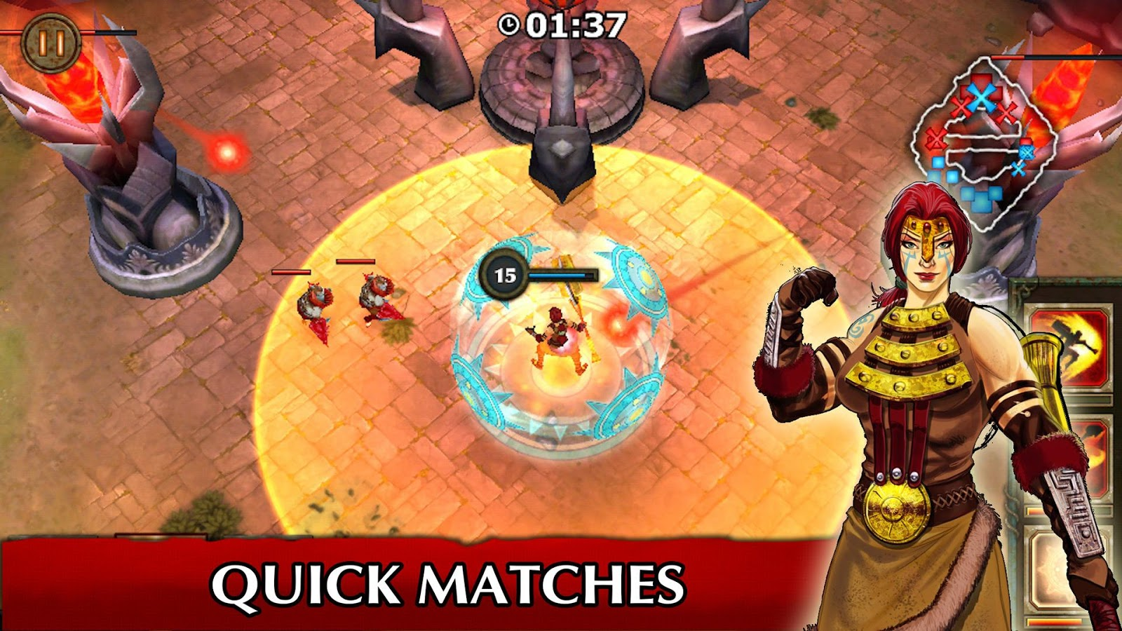 Legendary Heroes MOBA Screenshot 6