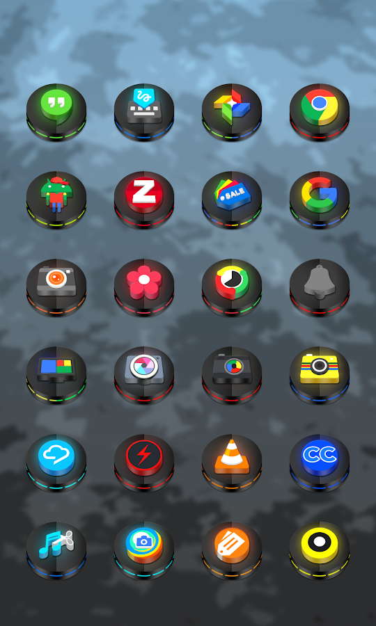 Neon 3D icon Pack Screenshot 17