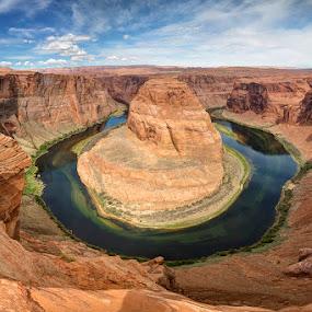 God's Country by Ken Smith - Landscapes Travel ( horseshoe bend, page, landscape )