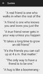 Friendship Quotes and Sayings - screenshot