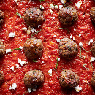 Lamb Meatballs With Spiced Tomato Sauce