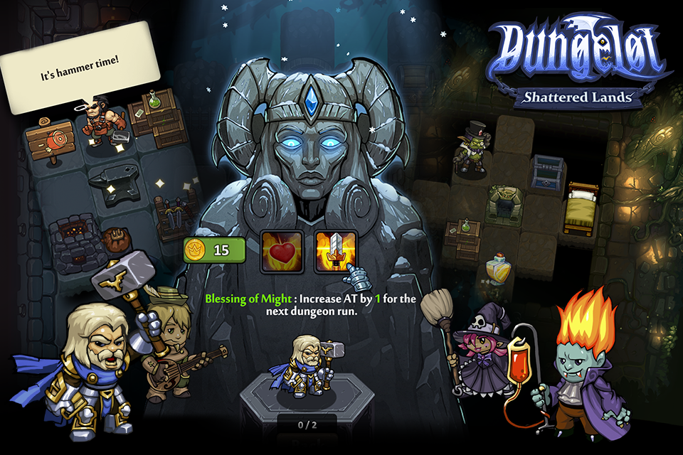 Dungelot Shattered Lands Screenshot 3