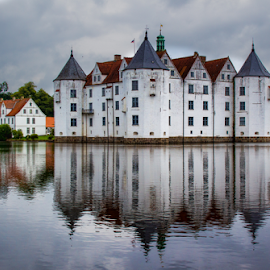 Glücksburg house (Germany) by Gianluca Presto - Buildings & Architecture Homes ( old house, home, reflection, water reflection, old, europe, glücksburg, reflections, architecture, house, landscape, historic, ancient, nature, towers, fortress, germany, homes, water, houses, lake, old building, tower, castle, ancient house, historical, medieval,  )
